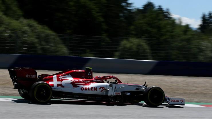 Max Verstappen wygrał drugi trening na Red Bull Ringu. Wypadek Daniela Ricciardo
