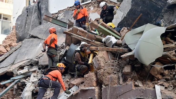 Oznaki życia pod gruzami w Bejrucie. Ratownicy szukają ocalałych miesiąc po wybuchu
