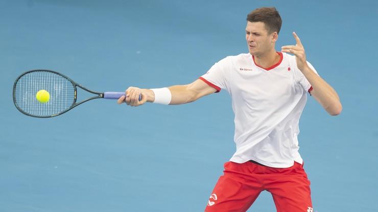 ATP w Auckland: Hurkacz poznał rywala