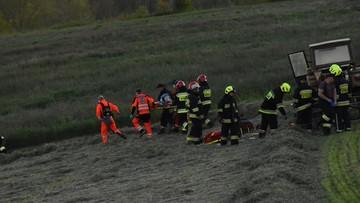 Ciągnik najechał na dwulatka. Dziecko w szpitalu