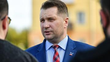 Przemysław Czarnek zakażony koronawirusem