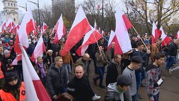 Organizatorzy Marszu Niepodległości będą weryfikować hasła umieszczone na transparentach