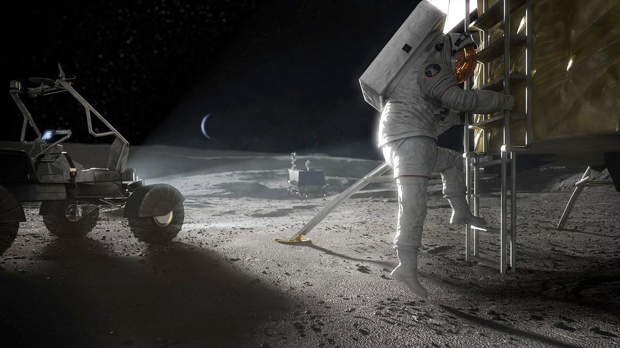 NASA buduje kamerę, która sfilmuje moment lądowania kobiet na Księżycu [FILM]