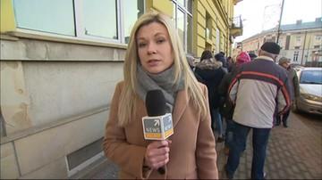 Gigantyczne kolejki przed Podkarpackim Bankiem Spółdzielczym. Nie wszyscy odzyskają pieniądze