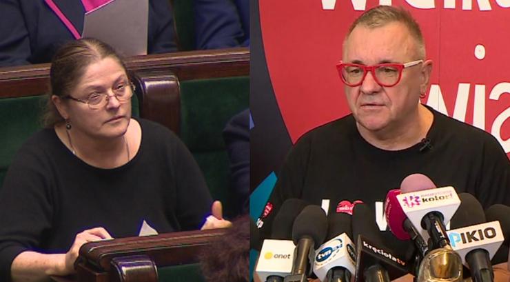 """Pawłowicz przegrała z Owsiakiem. """"Jako polityk mam mieć grubą skórę"""""""