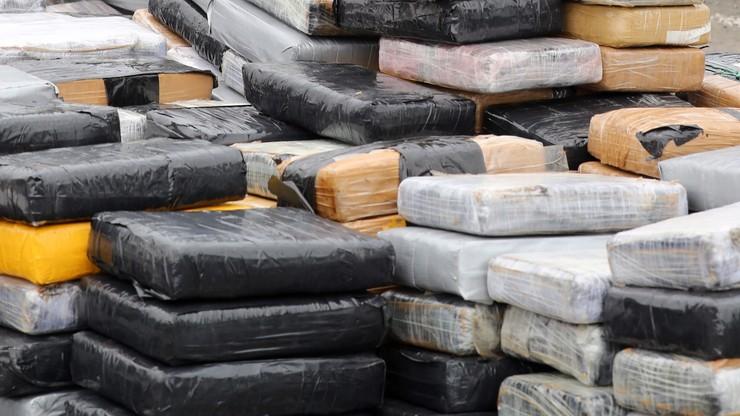 Udaremniono przemyt 1,5 tony kokainy. Towar miał trafić do Polski