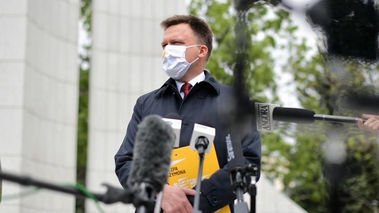Hołownia: Trzaskowski to nie jest kandydat na prezydenta