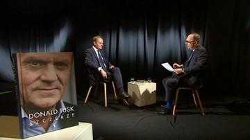 """""""Efekt paradoksalny"""" - Tusk o brexicie. Wywiad w programie """"Dzień na Świecie"""" w Polsat News"""