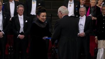 """Olga Tokarczuk odebrała Nagrodę Nobla. """"Polska literatura błyszczy w Europie"""""""