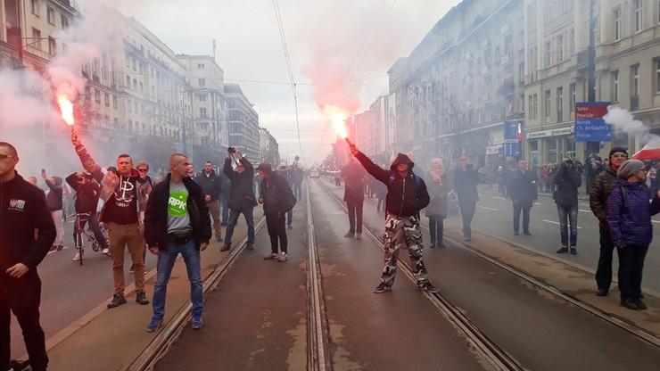 Marsz Niepodległości i Marsz Antyfaszystowski w obiektywie reporterów Polsat News