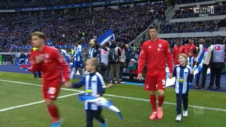 Hertha Berlin - Bayern Monachium 0:4. Skrót meczu [ELEVEN SPORTS]