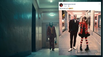 Lewandowski przebrany za Jokera. Internet zawrzał, posypały się komentarze