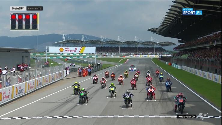 MotoGP: GP Malezji 2019. Skrót wyścigu