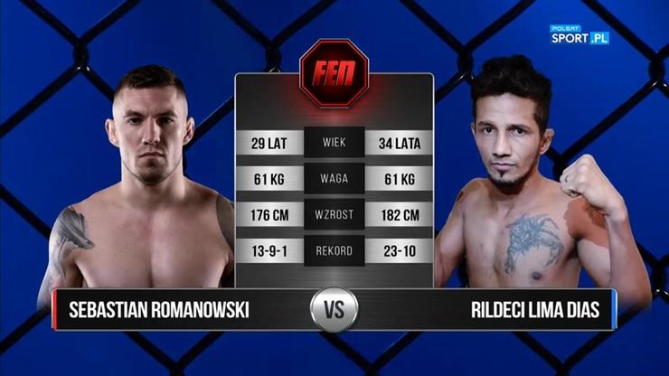 Sebastian Romanowski - Rildeci Lima Dias. Skrót walki