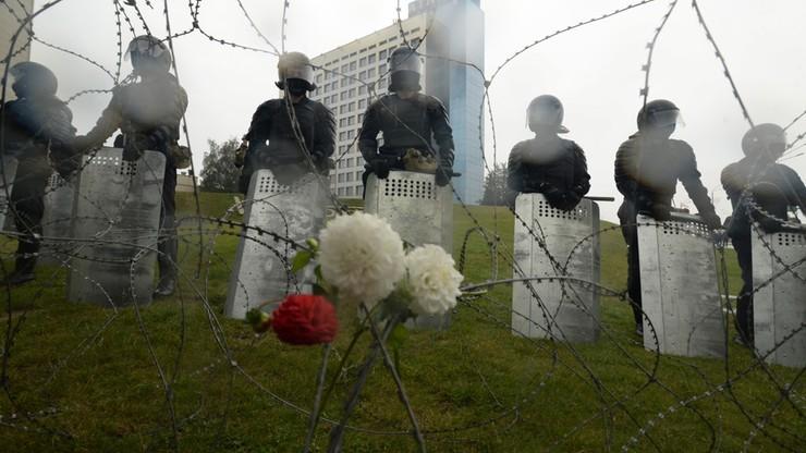 Protesty na Białorusi. Polski policjant apeluje do milicji
