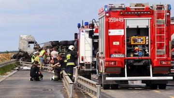Katastrofa w Bogusławicach. Zarzut dla kierowcy cysterny