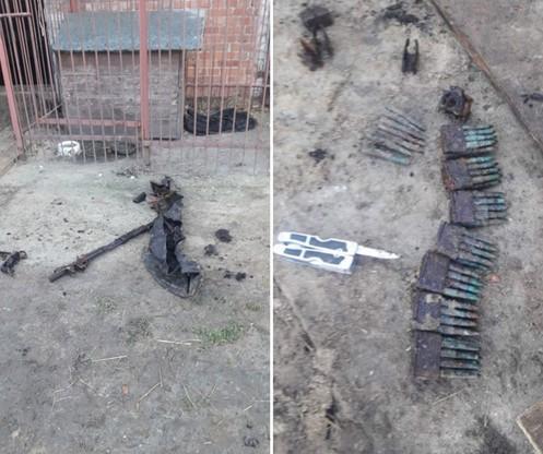 Broń w znacznym stopniu uległa rozkładowi, szczególnie w części drewnianej. W całości zachowała się lufa