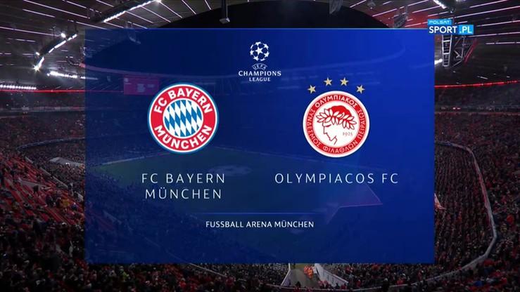 2019-11-06 Bayern Monachium - Olympiakos 2:0. Skrót meczu
