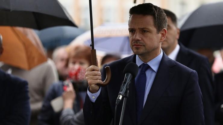 Zadzwonił do kancelarii prezydenta, groził zabiciem Trzaskowskiego. Został aresztowany
