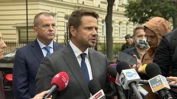 """""""Zobaczymy, czy wojsko wystawi nam fakturę"""". Trzaskowski ws. mostu pontonowego na Wiśle"""