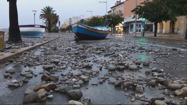 Ulewne deszcze i powódź we Francji. Nie żyją cztery osoby