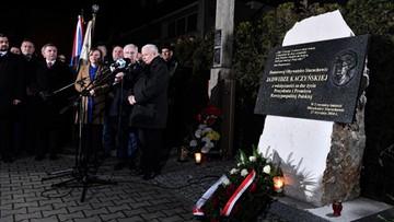 """Kaczyński: """"Polska suwerenna, wolna, w Unii Europejskiej - to ta przyszłość, o którą musimy walczyć"""""""