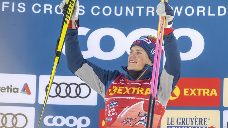 Tour de Ski: Lampic i Klaebo najlepsi w sprintach