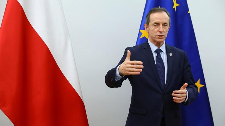 Grodzki: środki unijne będą uzależnione od przestrzegania praworządności