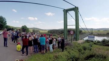 Przez mostek tylko rowerem. Mieszkańcy protestują