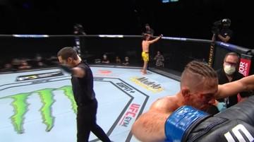UFC 249: Koszmarna kontuzja w świetnej walce. Sędzia przerwał pojedynek