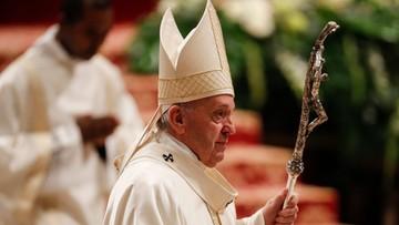 Franciszek spotkał się z kobietą, którą uderzył w sylwestrowy wieczór
