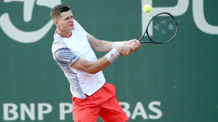 Porażka Hurkacza w pokazowym turnieju tenisowym na Florydzie