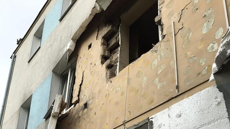 Wybuch butli z gazem w Płońsku. Ranna jedna osoba