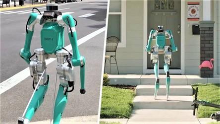 Ten dziwaczny robot niebawem dostarczy Wam pizzę i paczki [FILM]