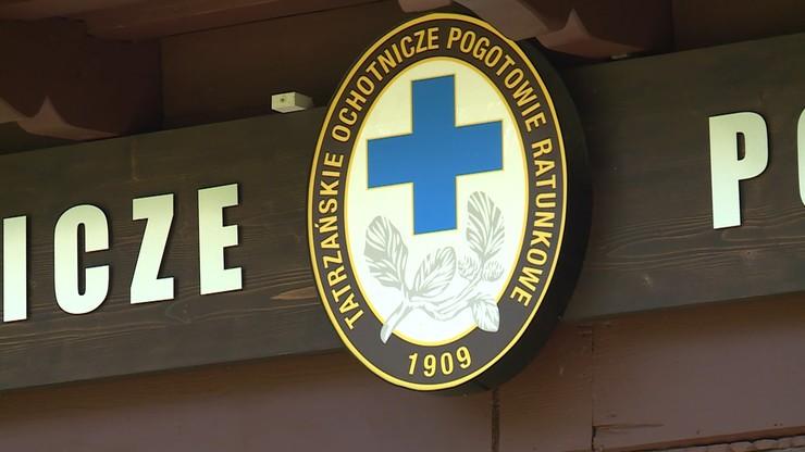 Wypadek w Tatrach. Kobieta z urazem głowy trafiła do szpitala