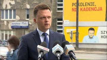 Hołownia: Trzaskowski szybko znajdzie swój sufit, Polacy dali się zaczarować PO i PiS