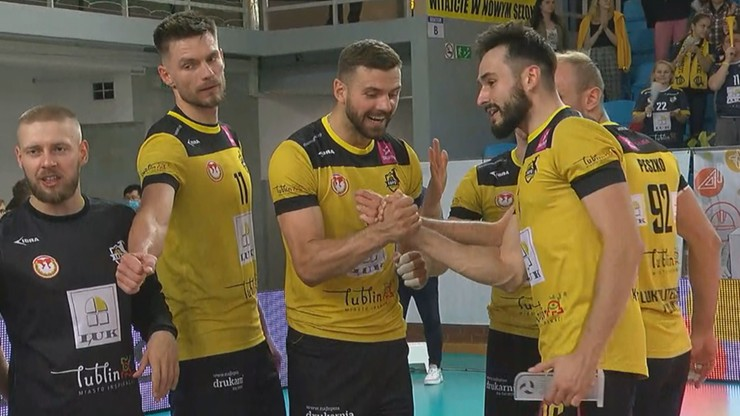 Tauron 1. Liga: Zdecydowane zwycięstwo siatkarzy LUK Politechniki Lublin