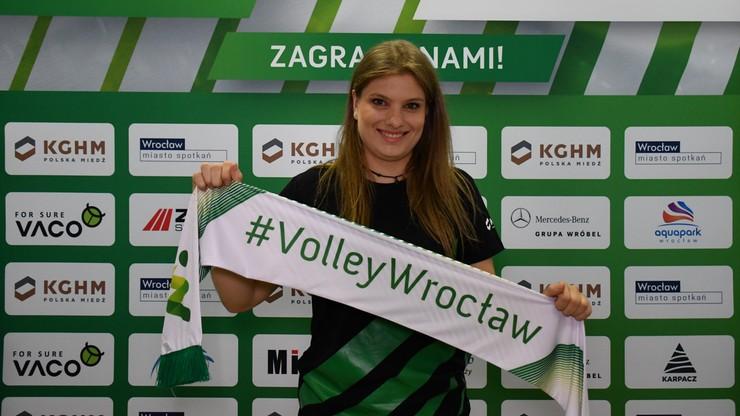 #VolleyWrocław zatrzymał kolejną podstawową siatkarkę