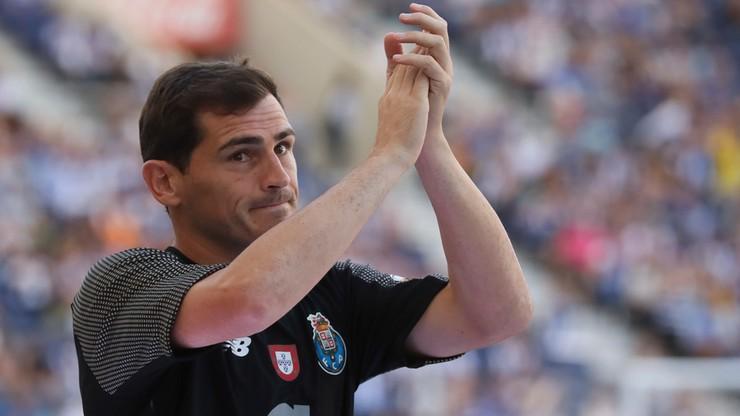 Iker Casillas zakończył karierę piłkarską