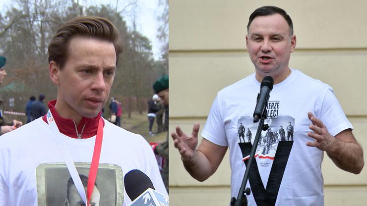 Andrzej Duda i Krzysztof Bosak pobiegli, by uczcić pamięć o Żołnierzach Wyklętych