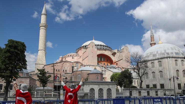 Hagia Sophia znów będzie meczetem. Erdogan podpisał dekret