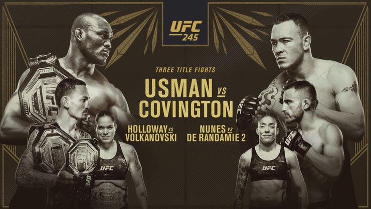 UFC 245 w Las Vegas: Gdzie obejrzeć transmisję gali?