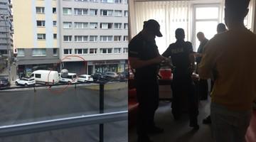 Okno w siedzibie SLD ostrzelane z broni pneumatycznej. Zatrzymano podejrzanego