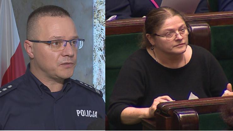 Rzecznik Komendy Głównej Policji żegna się z Twitterem. Reakcja Pawłowicz