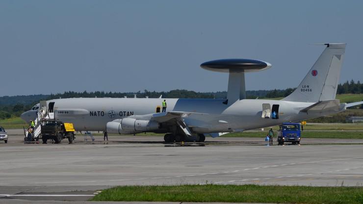 Samolot wczesnego ostrzegania NATO nad Polską. Wojsko wyjaśnia