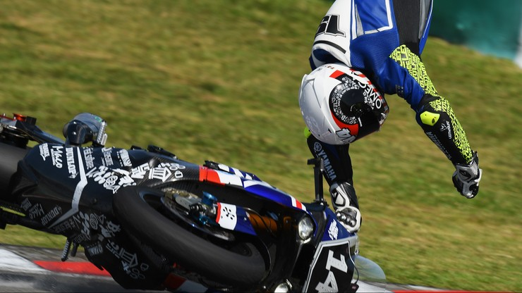 Groźny wypadek polskiego motocyklisty w Malezji