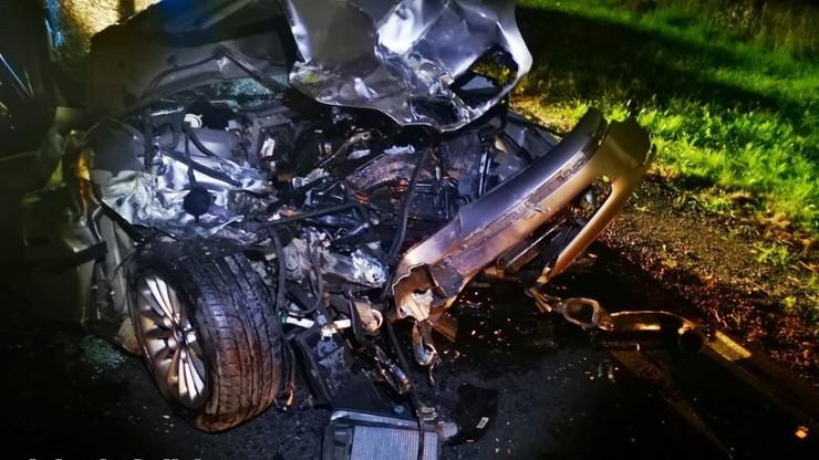 18-letni kierowca bmw znajdował się pod wpływem alkoholu