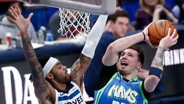 """NBA: Doncic z 21. """"triple-double"""" tuż przed 21. urodzinami"""