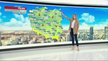 Prognoza pogody - czwartek, 1 października - rano