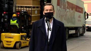 """""""W magazynach jest ponad 2 tys. respiratorów"""". Premier w Agencji Rezerw Materiałowych"""